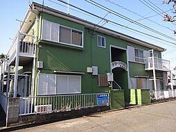 東京都東久留米市前沢1丁目の賃貸アパートの外観