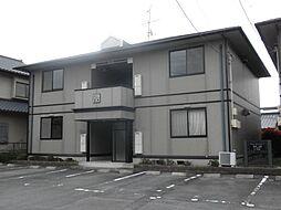 熊本県熊本市南区出仲間5丁目の賃貸アパートの外観