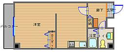 長崎県長崎市万屋町の賃貸マンションの間取り