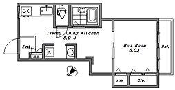 第2宏明ビル[3階]の間取り