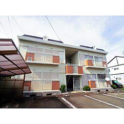 静岡県藤枝市高柳2丁目の賃貸アパートの外観