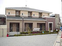 兵庫県姫路市飾磨区中浜町2丁目の賃貸アパートの外観