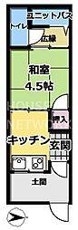 [一戸建] 京都府京都市左京区一乗寺堀ノ内町 の賃貸【/】の間取り