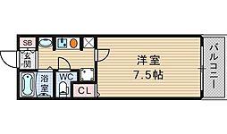 NANIWAI番館[801号室]の間取り