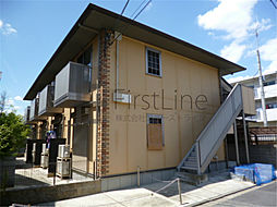 京都府京都市伏見区深草相深町の賃貸アパートの外観