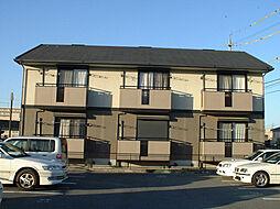 三重県四日市市芝田1丁目の賃貸アパートの外観
