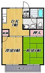 セジュールエース[105号室号室]の間取り