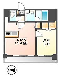 FIRST RESIDENCE SAKAE(ファースト)[2階]の間取り