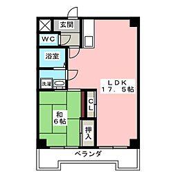 熱田ATビル[5階]の間取り