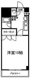 サルヴァトーレ西小倉[5階]の間取り
