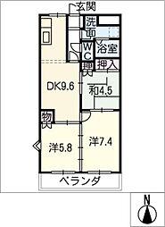 ライフパーク[2階]の間取り
