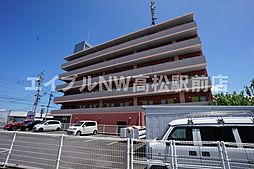 香川県さぬき市志度の賃貸マンションの外観