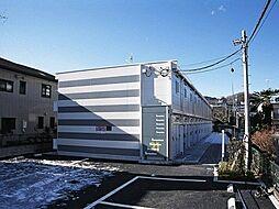 東京都八王子市初沢町の賃貸アパートの外観