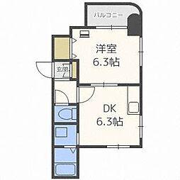 DEVEX282[3階]の間取り