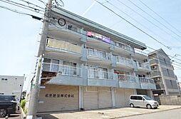 生駒マンション[3階]の外観