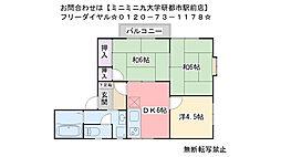 ソレム横浜B棟[101号室]の間取り