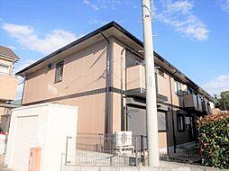 埼玉県春日部市備後西5の賃貸アパートの外観