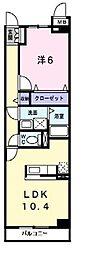 サンリット・24[1階]の間取り
