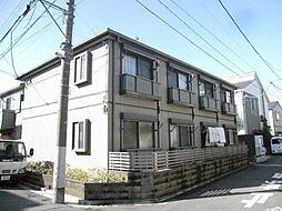 東京都中野区鷺宮6丁目の賃貸アパートの外観