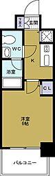 エスライズ大阪ドームレジデンス[7階]の間取り