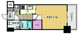 エスリード福島リバーフロント[9階]の間取り