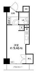 ペルソナージュ横浜[5階]の間取り