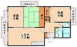 レジデンス渡邊II[2階]の間取り