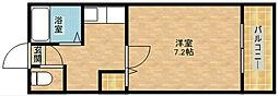 グランソシエ聖天坂[8階]の間取り