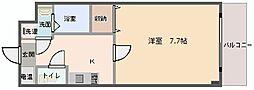 レインボーハイムII[1階]の間取り