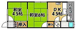 兵庫県明石市貴崎5丁目の賃貸アパートの間取り