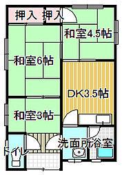 [一戸建] 大阪府堺市西区鳳西町3丁 の賃貸【大阪府 / 堺市西区】の間取り