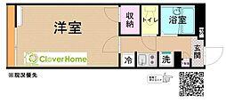 小田急小田原線 鶴川駅 バス8分 真光寺中学校入口下車 徒歩4分の賃貸アパート 1階1Kの間取り