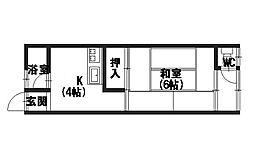 ピソ・シエテI[201号室]の間取り