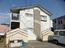 千葉県松戸市栄町西1丁目の賃貸アパートの外観