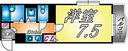 兵庫県神戸市灘区弓木町5の賃貸マンションの間取り