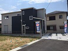 10号棟、現地写真です。現地見学会のお客様は事前にご連絡お願い申し上げます。