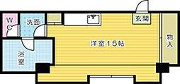ベルガ片野[501号室]の間取り