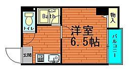 シティーライフ千代崎[3階]の間取り