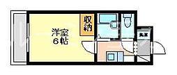 リアルティ神戸名谷[1階]の間取り