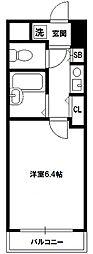 エステムコート新大阪[10階]の間取り