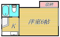 アパートメント四季[1階]の間取り