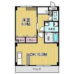 パークガーデン西神の倉II[1階]の間取り