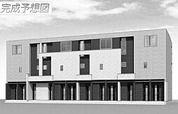 土山6丁目アパート[201号室]の外観