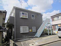 千葉県船橋市芝山5丁目の賃貸アパートの外観