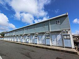 千葉県成田市三里塚の賃貸アパートの外観