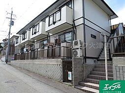 滋賀県大津市梅林1丁目の賃貸アパートの外観