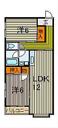 横瀬マンション[3階]の間取り
