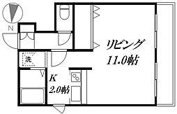 シティライフ137[306号室]の間取り