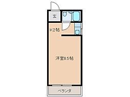 東コーポ[2階]の間取り