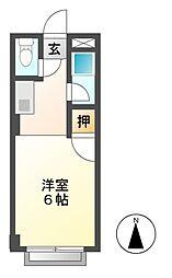 コーポ小林[2階]の間取り